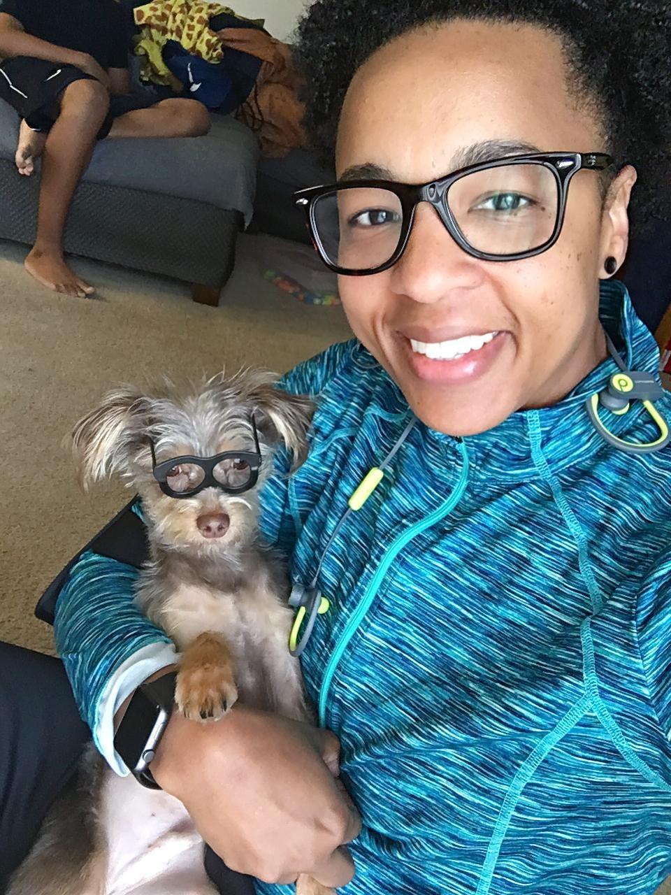 dog walker Jamila