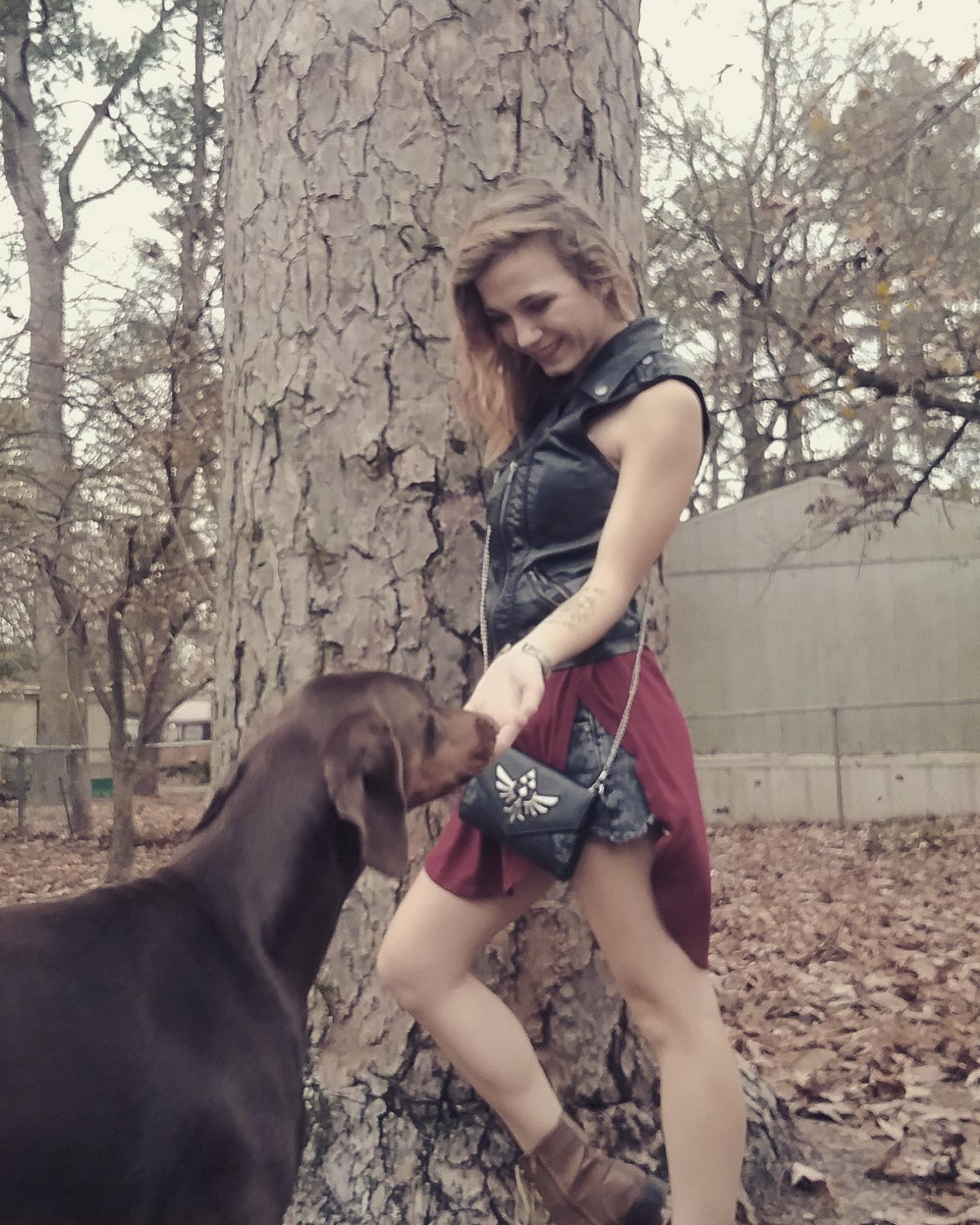 dog walker Crisanna