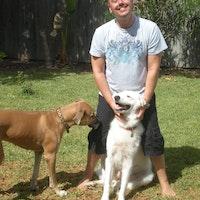 dog walker Anatoli