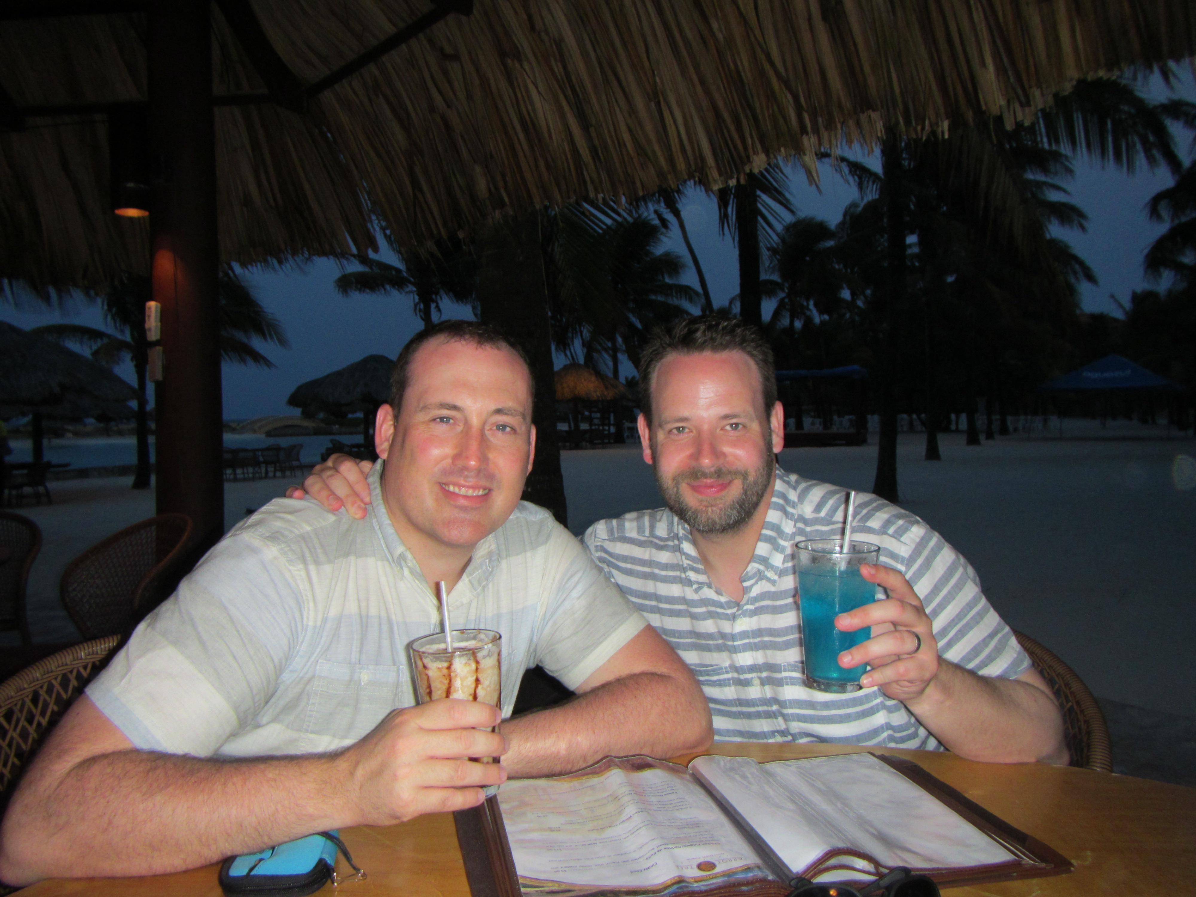 Garrett and Bo H.