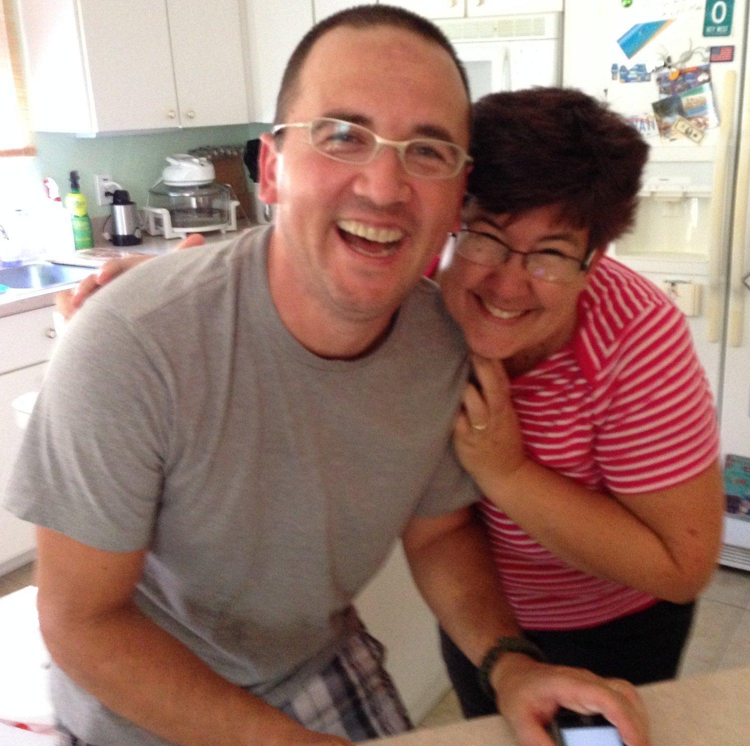 Dzeni and Kathy H.