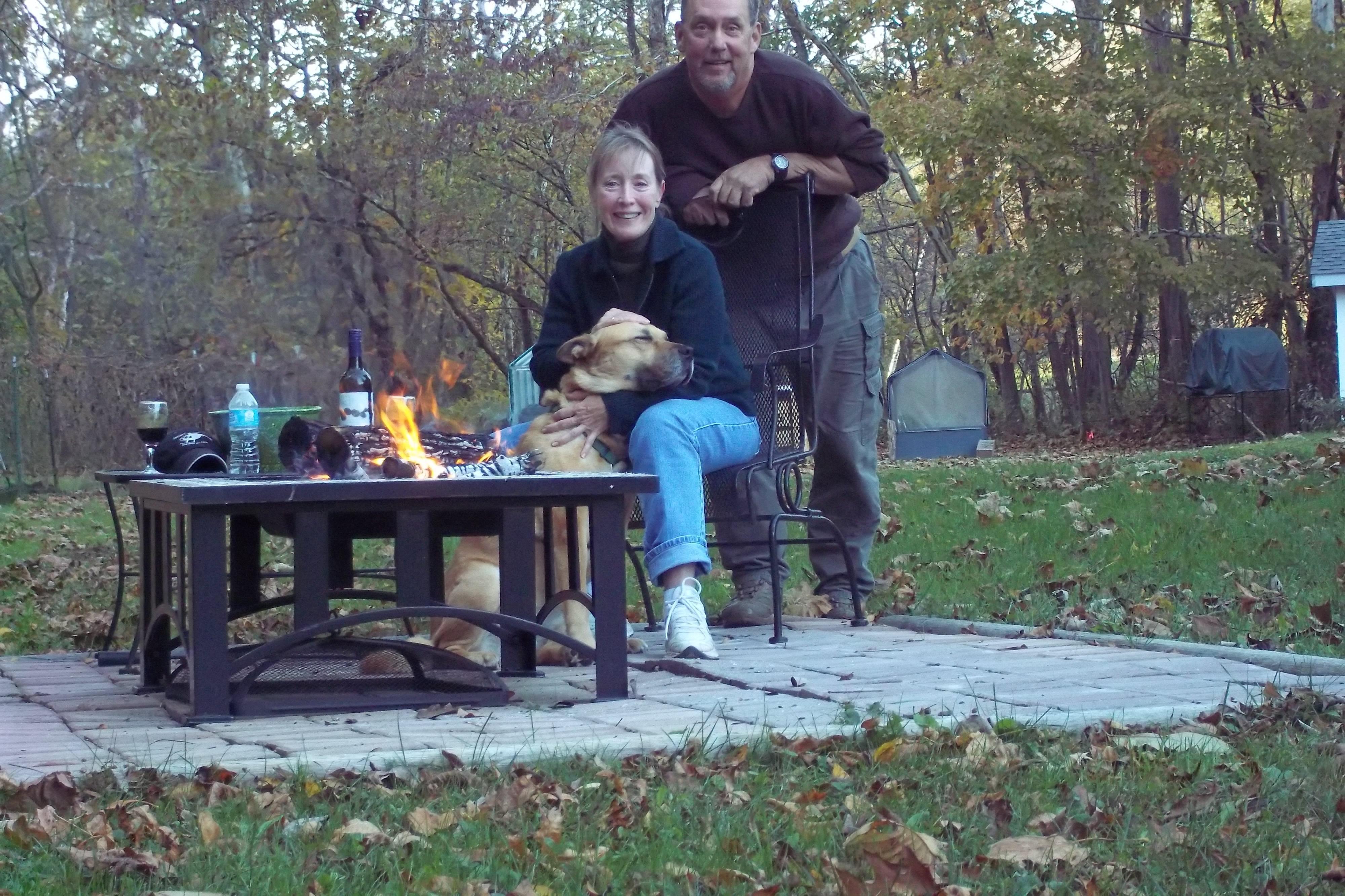 Brian and Karen M.